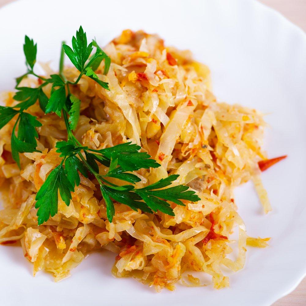 Cabbage Stir-Fry