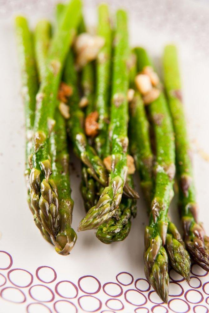 Toasted Garlic Asparagus