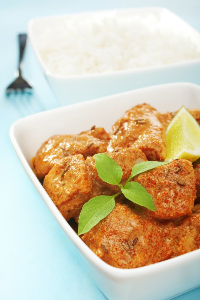 Curried Chicken and Onion
