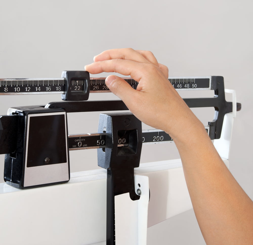 Determining BMI, doctor's scale