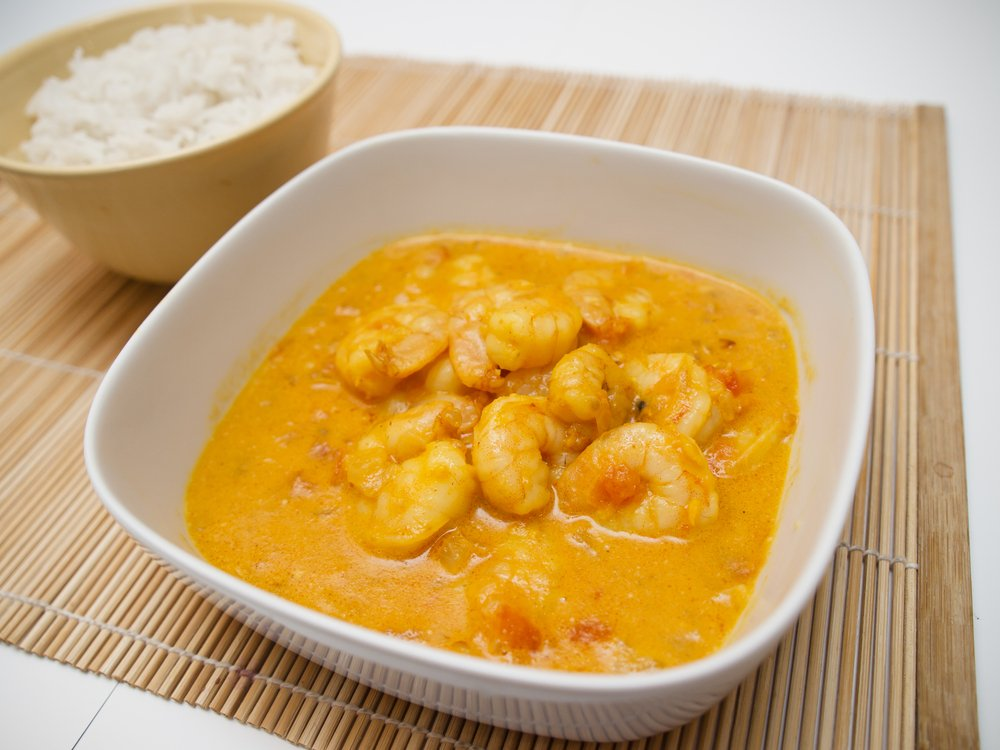 Shrimp and Tomato Curry Soup