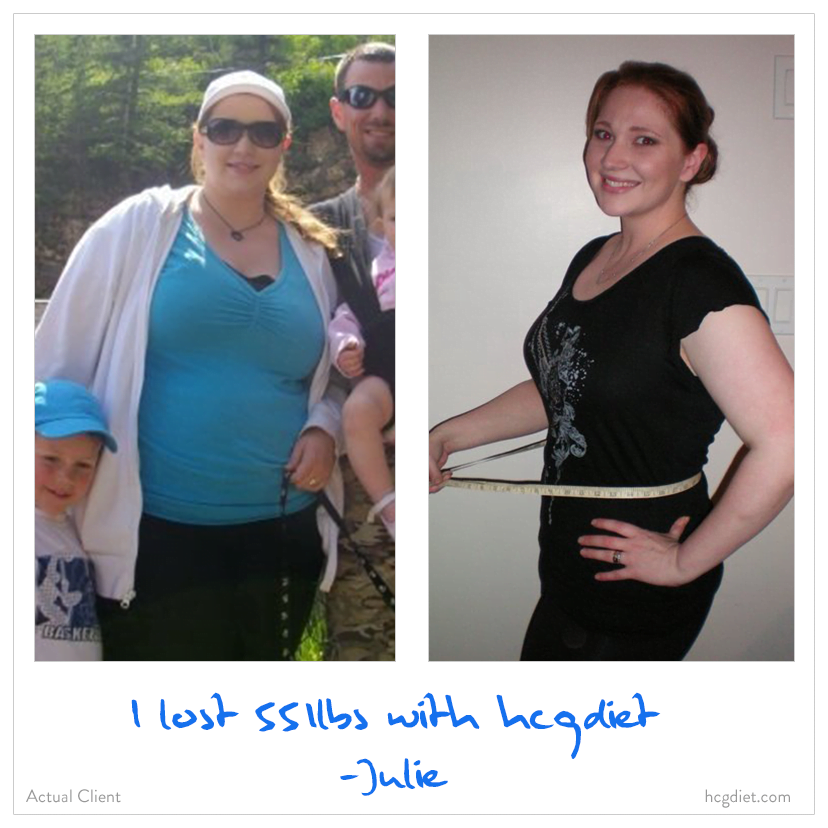 Julie Lost 55lbs