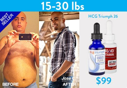HCG Weight Loss before and after pic