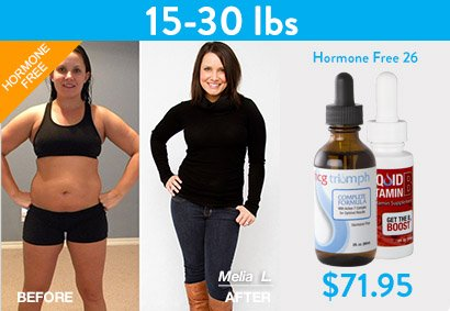 HCG Weight loss before and after pic 2